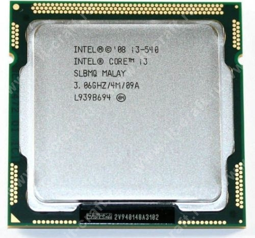 Socket 1156 Intel Core i3-540 Clarkdale (3067MHz, L3 4096Kb)