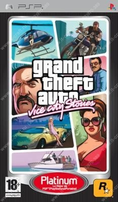 Игра для PSP Grand Theft Auto: Vice City Stories (Platinum)