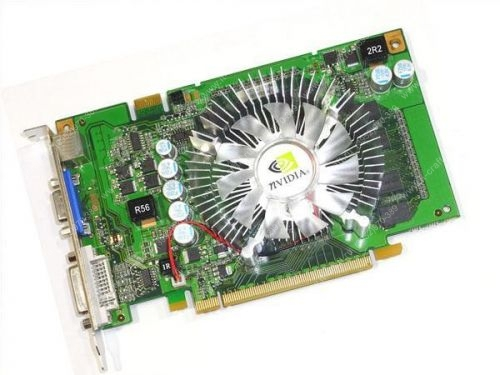 Видеоадаптер PCI-E GeForce 9400 GT 550Mhz PCI-E 2.0 1024Mb 800Mhz 128 bit DVI TV HDCP YPrPb