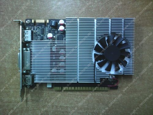Видеоадаптер PCI-E NVidia GeForce GT 545 1536Mb 192bit DVI HDMI