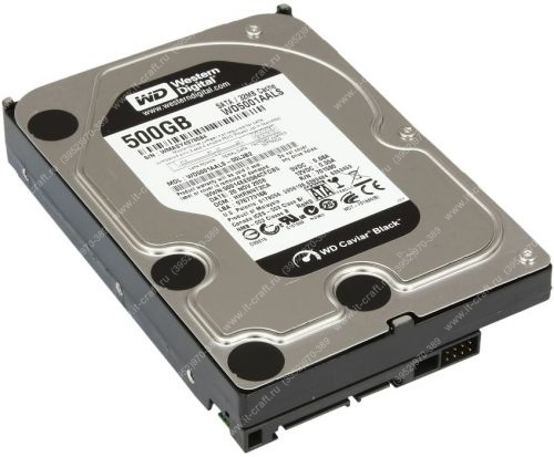 SATA 3Gb/s HDD 500Gb Western Digital WD5001AALS Caviar Black