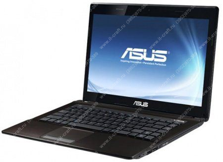 "ASUS K43E (Core i5 2410M 2300 Mhz/14.0""/1366x768/4Gb/500Gb/DVD-RW/Wi-Fi/Bluetooth/Win 7 HP)*"