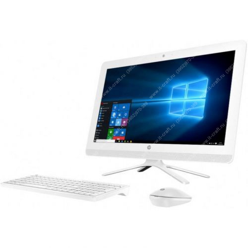 "Моноблок HP 22-c0072ur [4RK49EA] 21.5"" Celeron J4005 2.0Ghz X2\8Gb DDR4\500Gb\CAM\WiFi\CR"