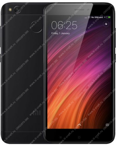 Смартфон Xiaomi Redmi 4X 32GB (+ стекло + 2 чехла)